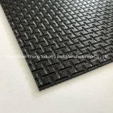 Cinta transportadora de PVC de 3 mm para el aeropuerto y la industria textil