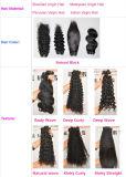 estensione naturale diritta dei capelli Remy dei capelli umani cambogiani del Virgin di 100% 8A nessun tessuto di spargimento Lbh 006 dei capelli di groviglio liberamente