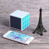 36 altofalante sem fio de Bluetooth do cubo do diodo emissor de luz Rubik claros mini (OITA-6625A)