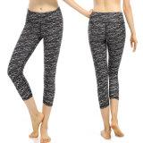 A ioga da ginástica de mulheres arfa caneleiras da ioga do Sportswear para a aptidão