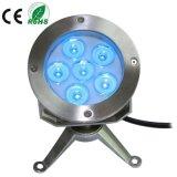 6X3w IP68 LED水中プロジェクターライトランプ