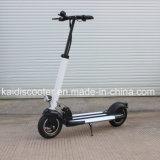 2 de Vouwbare ElektroAutoped van wielen met het Frame van het Aluminium van de Batterij van het Lithium