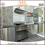 Armadi da cucina esterni dell'acciaio inossidabile della lacca del BBQ di N&L