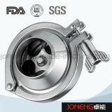 Aço inoxidável grau alimentício soldada a válvula de verificação (JO-VLR2003)