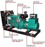 Génératrices diesel à refroidissement par air de 100kw 125kVA