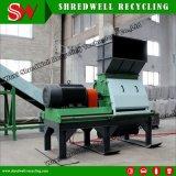 Máquina trituradora de madera de residuos de alta calidad para el trozo de plástico/metal/Palet/reciclaje de llantas