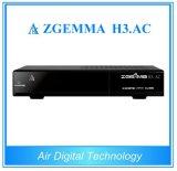 ATSC y DVB S2 decodificador de televisión profesional Zgemma H3. AC