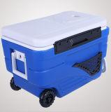 Fertigung 16 L beweglicher Plastiklaufkatze-Kühlvorrichtung-Nahrungsmittelkasten