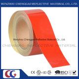 Rouge Ruban réfléchissant de qualité commerciale pour l'étage (C1300-OR)