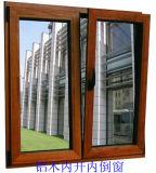 Fenêtre inclinée et tournante en aluminium à l'Europe