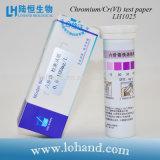 Cromo de las tiras de prueba/papel de prueba rápidos del Cr (vi) con precio bajo