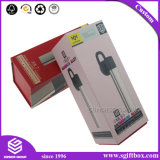 Вспомогательное оборудование складного картона просто конструкции электронное установило коробку подарка упаковывая с логосом после того как оно напечатано
