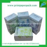 Rectángulo de empaquetado plegable cosmético elegante del perfume de papel del regalo