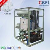 Máquina de gelo do tubo do cilindro do tubo de preços de bebidas e vinhos de gelo