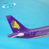 1:100 44.5cm Эрбас A321 смолаы плоское модельное