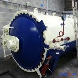 1500X3000mm ASME certificou a autoclave de borracha direta de Vulcanizating do aquecimento de vapor