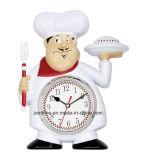 최신 판매 재미있은 요리사 유행 도매 벽시계