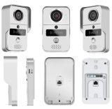 Porta video ao ar livre Bell de WiFi com função do controle de acesso de RFID