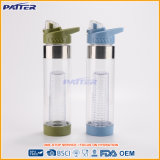 Diversas botellas de agua modificadas para requisitos particulares del plástico de Joyshaker del color