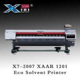 Imprimante dissolvante d'Eco de format large industriel de tête d'impression du nouveau produit 2.5pl Xaar 1201*2 de Xuli pour la publicité et le Signage