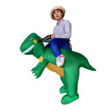 Giro da portare gonfiabile del drago di Hallowmas sul costume per il commercio all'ingrosso caldo
