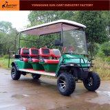 セリウムは8つの乗客電気ハンチング手段の電気ゴルフカートを承認した