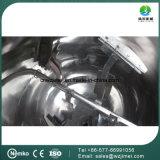 Acero inoxidable Tipo de inclinación industrial de vapor de calefacción doble camisa Caldera Cocina con agitador / mezclador de Jam