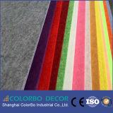 Ce Pet approuvé 100 % de la fibre de polyester Panneau acoustique mural (insonorisée)