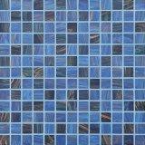 Mosaico de cristal para la piscina