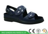 Сандалия женщин ортоых ботинок фиоритуры протезная