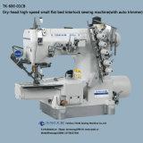 Tk-600-01CB Dry-Head Cama pequena televisão de alta velocidade de máquina de costura de intertravamento (com aparador automático)
