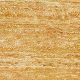 Materiale da costruzione, materiale della decorazione, mattonelle di pavimento di pietra di Travertin delle mattonelle Polished della porcellana