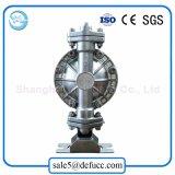 Bomba de diafragma dobro pneumática do aço inoxidável para a indústria química