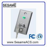 Acier inoxydable Pas de bouton de porte COM avec rétro-éclairage (SB4R)