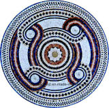 Reticolo rotondo personalizzato Ma-Jl803y del fiore del mosaico