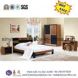 Mobilia di legno semplice moderna della camera da letto della doppia base (SH-003#)