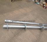 Aufbau galvanisierte schraubenartige Stapel für Zaun-Schrauben-Basis
