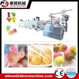 공장을%s 가득 차있는 자동적인 Lollipop 사탕 생산 라인