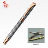 ビジネスギフトのための金の金属球のペンのローラーのペン