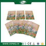 Étiquette de chapeau de rétrécissement de PVC de prix concurrentiel