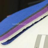 High-End van 5mm het Dikke Zachte Rode Patroon van het Net van het Broodje van de Vloer van de Sporten van het Hof van het Pingpong van pvc Vinyl