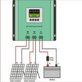 30A 40A 50A Controlemechanisme van uitstekende kwaliteit van de Last van MPPT het Zonne voor het Systeem van de ZonneMacht