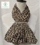 Madame estampée par léopard Scarf Factory de mode de réchauffeurs de collet de l'Europe