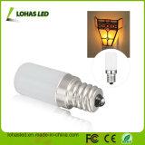 L'éclairage S6 E12 1.5W de nuit chauffent l'ampoule blanche de l'intense luminosité DEL