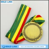 Zinc Alloy Casting Blank Medal Bronze personnalisé Gold Medals Metal Coin