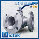 Didtek Tのタイプステンレス鋼マニュアル3の方法球弁