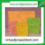 Wiederverwertungs-und Umweltschutz-Packpapier-Beutel mit Seil-Griff