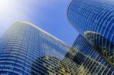 Parete divisoria di vetro laminato di Frameless per il grattacielo