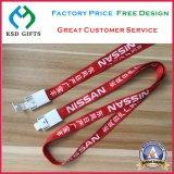 Geweven/Polyester/Nylon Afgedrukt Lint met Plastic Haak (ksd-1181)