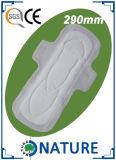 乾燥したカバーが付いている290mmの生理用ナプキン